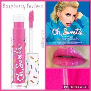 LE MAC Oh, Sweetie Lipcolour- Raspberry Pavlova